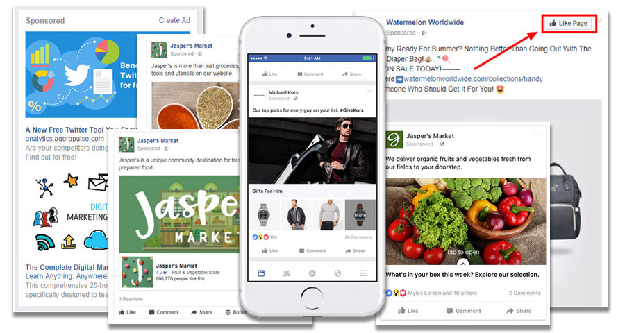 facebook and instagram ad formats